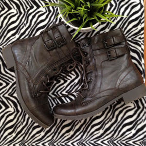 G By GUESS combat boots size 10 M